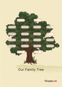 30 Free Genogram Templates & Symbols ᐅ Template Lab for Family Genogram Template Word