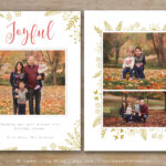 30 Holiday Card Templates For Photographers To Use This Year with regard to Holiday Card Templates For Photographers