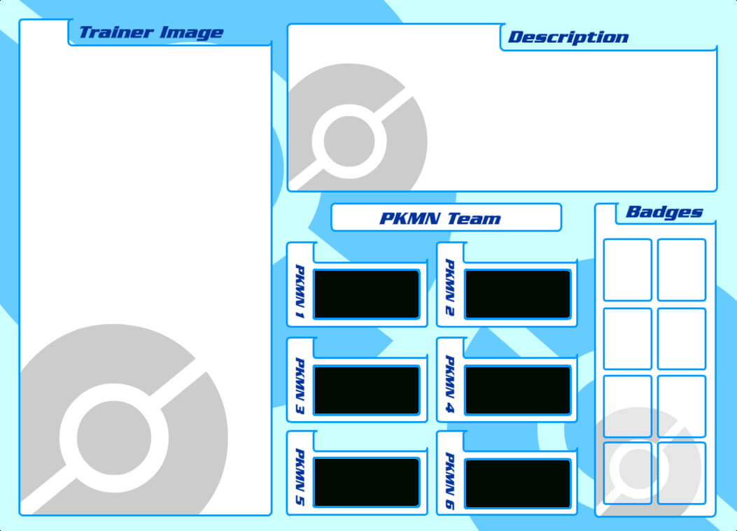30 Images Of Trainer Card Template | Nategray Inside Pokemon Trainer Card Template
