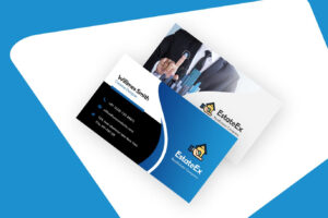 30+ Modern Real Estate Business Cards Psd | Decolore inside Real Estate Agent Business Card Template