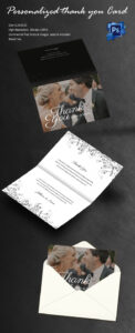 30+ Personalized Thank You Cards – Free Printable Psd, Eps in Card Folding Templates Free