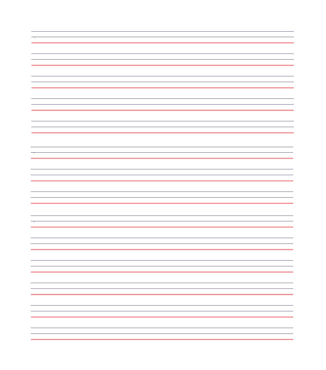 32 Printable Lined Paper Templates ᐅ Template Lab Intended For Ruled Paper Word Template