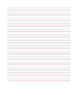 32 Printable Lined Paper Templates ᐅ Template Lab Pertaining To Ruled Paper Template Word