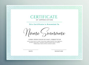 33+ Certificate Of Appreciation Template Download Now!! for Volunteer Of The Year Certificate Template