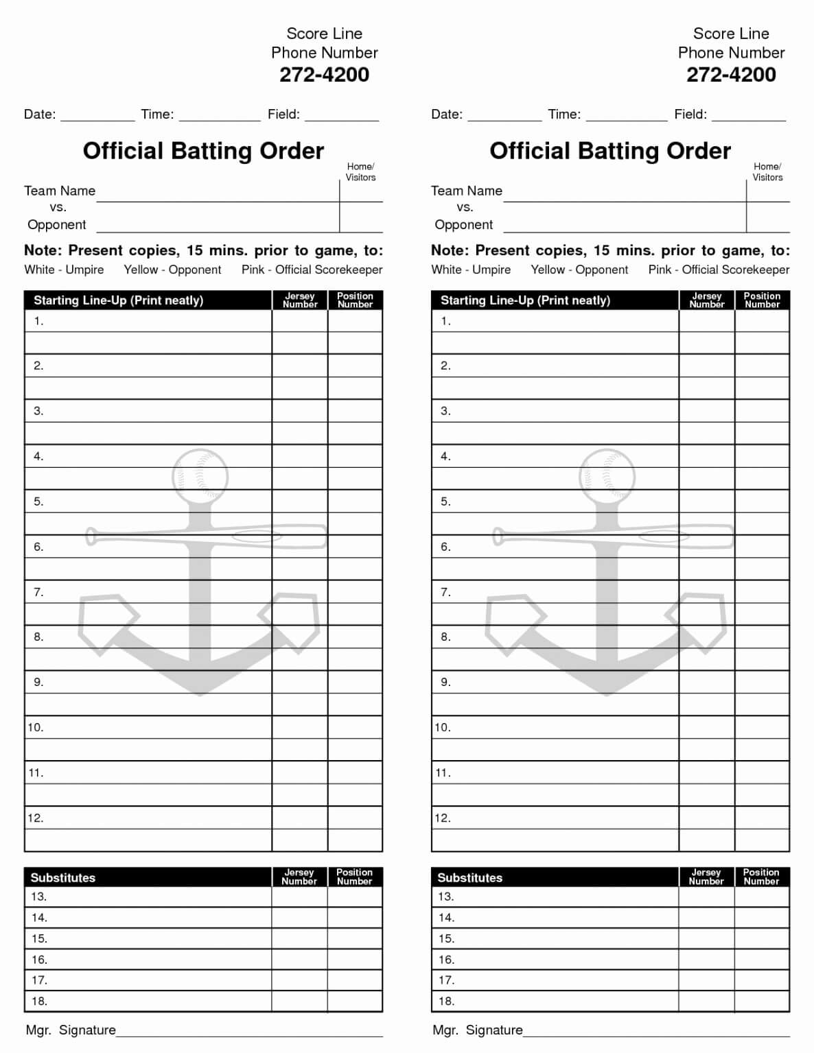 34 Baseball Lineup Card Template Excel   Culturatti With Regard To Dugout Lineup Card Template