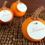35 Diy Thanksgiving Place Cards – Diy Place Card Ideas For Inside Thanksgiving Place Cards Template