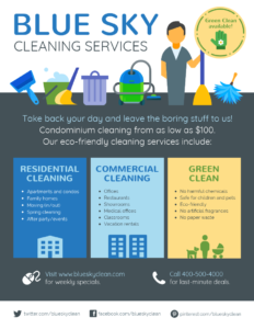 35+ Highly Shareable Product Flyer Templates & Tips | New inside Commercial Cleaning Brochure Templates