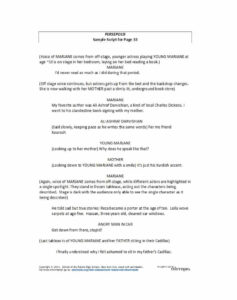 37 Creative Screenplay Templates [& Screenplay Format Guide pertaining to Microsoft Word Screenplay Template