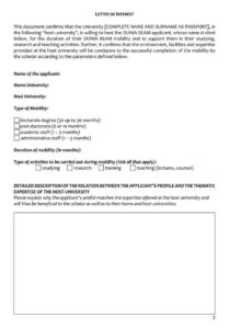 38+ Letter Of Interest Samples & Examples (Writing Guidelines) for Letter Of Interest Template Microsoft Word