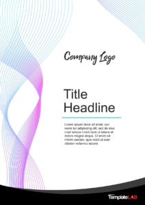 39 Amazing Cover Page Templates (Word + Psd) ᐅ Template Lab with regard to Cover Pages For Word Templates