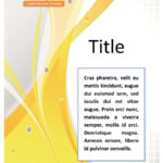 39 Amazing Cover Page Templates (Word + Psd) ᐅ Template Lab Within Word Title Page Templates