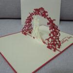3D Pop Up Wedding Card – Wedding Card – Pop Up Card For Wedding Pop Up Card Template Free