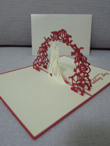 3D Pop Up Wedding Card – Wedding Card – Pop Up Card for Wedding Pop Up Card Template Free