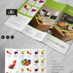 4 Fold Brochure Template Gallery Four Panel Free Print Ad Inside 4 Fold Brochure Template Word