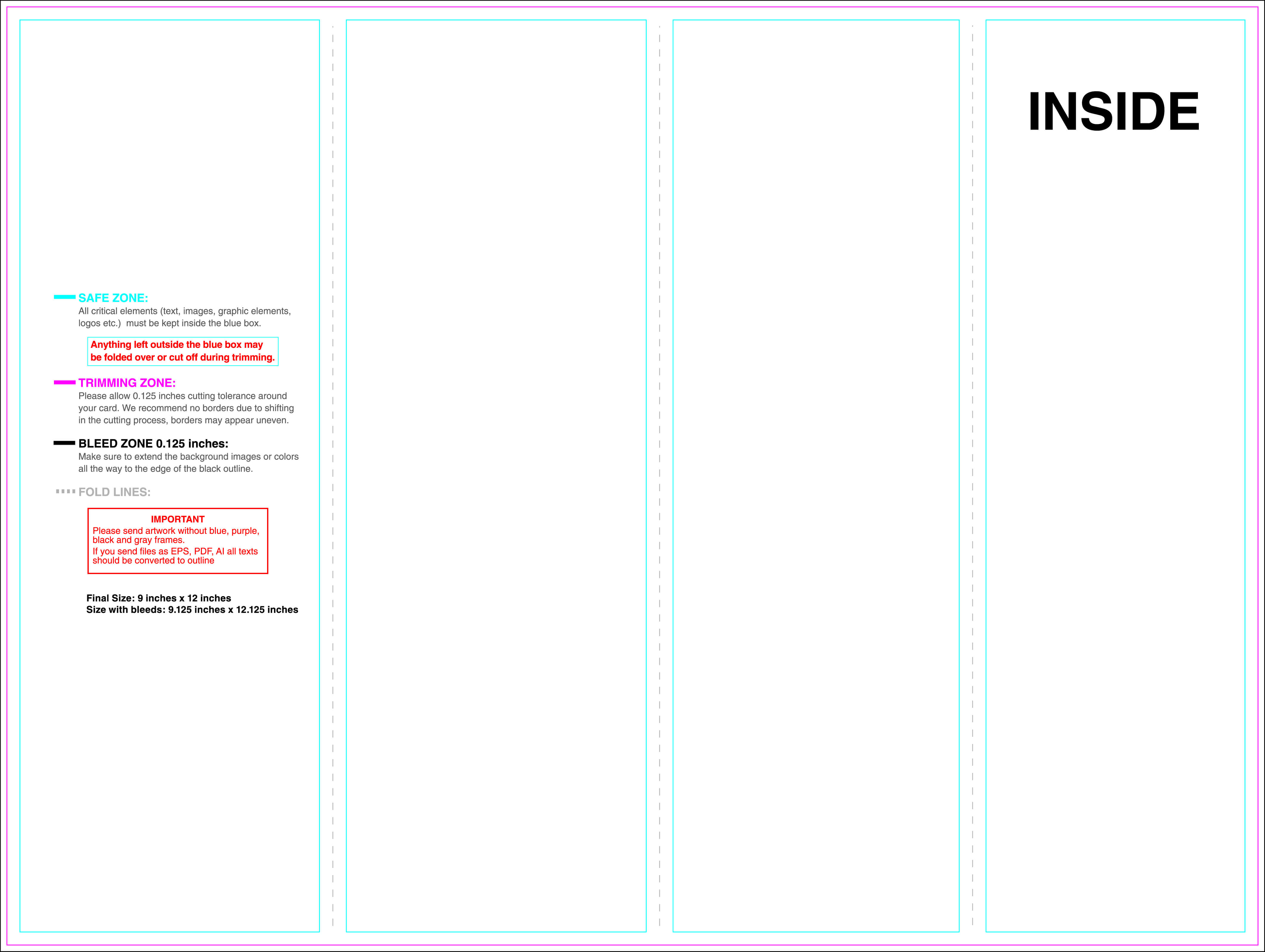 4 Fold Brochure Template – Teplates For Every Day With Brochure 4 Fold Template