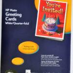 4+ Quarter Fold Card Templates – Psd, Ai, Eps   Free In Quarter Fold Greeting Card Template