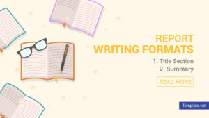 4+ Report Writing Formats – Pdf | Free & Premium Templates in Report Writing Template Free