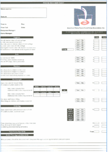 4. Store Audit Report Site Visit Form (Source: Procorp Usa throughout Customer Site Visit Report Template