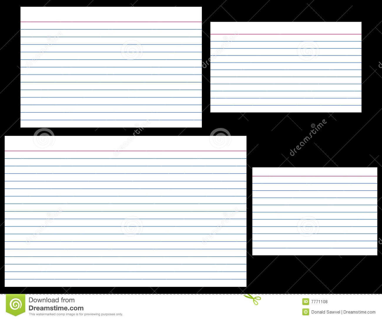 4 X 6 Note Card Template   Brainmaxx With Regard To 4X6 Note Card Template