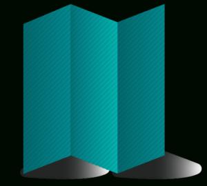 "4"" X 9"" Z Fold (3 Panel) Brochure Template Download | Adobe for 6 Panel Brochure Template"