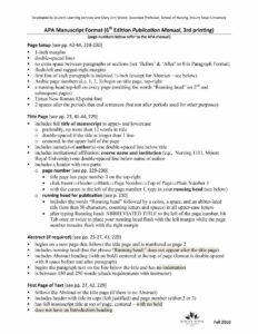40+ Apa Format / Style Templates (In Word & Pdf) ᐅ Template Lab in Apa Template For Word 2010