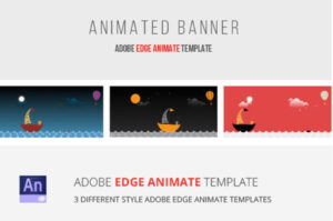 40 Awesome Edge Animate Templates with Animated Banner Templates