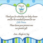 40 Beautiful Baby Shower Thank You Cards Ideas | Baby | Baby Throughout Template For Baby Shower Thank You Cards