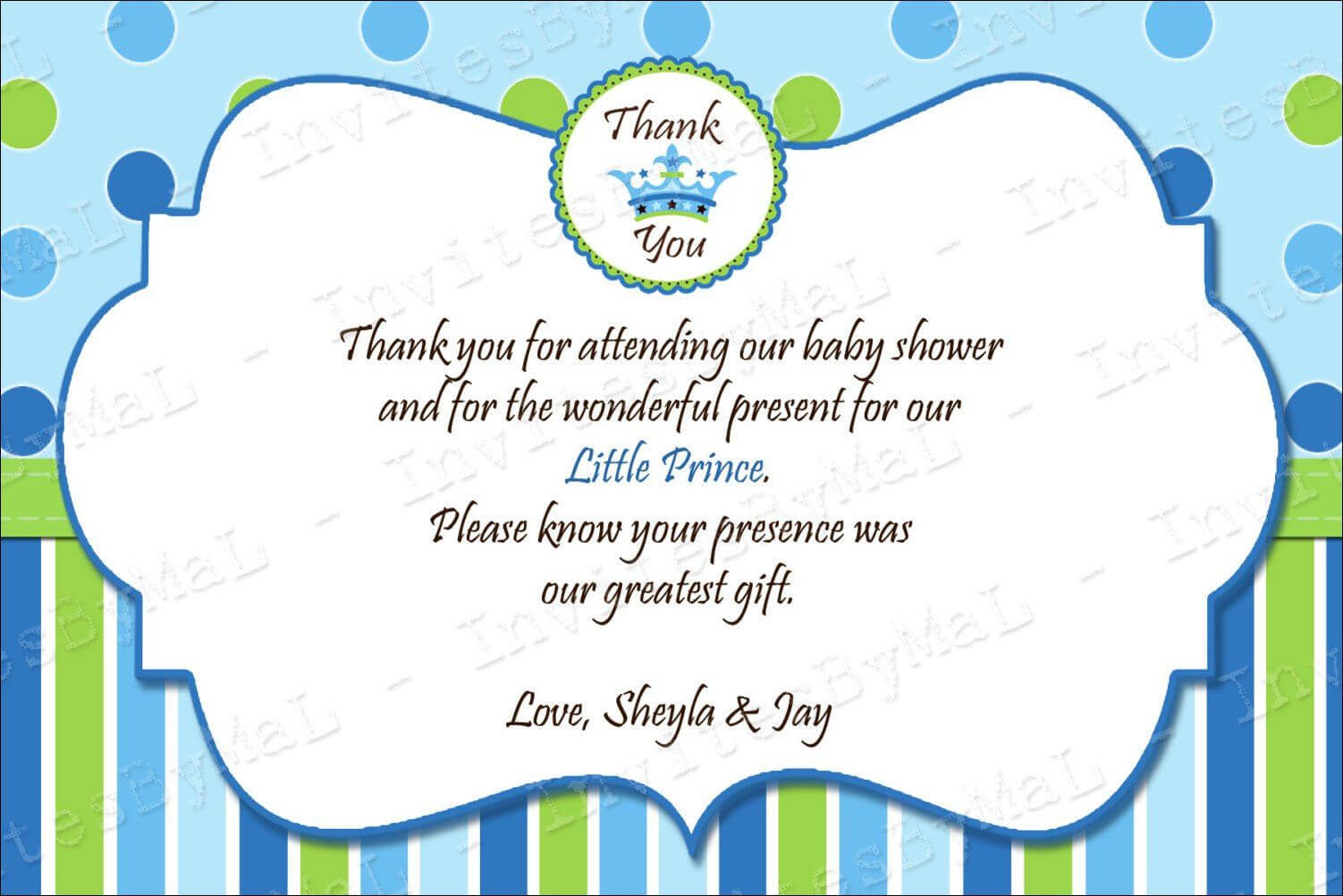 40 Beautiful Baby Shower Thank You Cards Ideas | Baby | Baby Within Thank You Card Template For Baby Shower