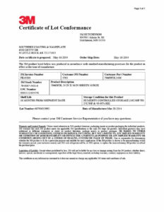 40 Free Certificate Of Conformance Templates & Forms ᐅ for Certificate Of Conformance Template