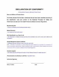 40 Free Certificate Of Conformance Templates & Forms ᐅ pertaining to Certificate Of Conformance Template