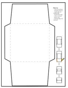 40+ Free Envelope Templates (Word + Pdf) ᐅ Template Lab inside Envelope Templates For Card Making