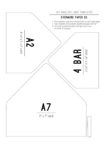 40+ Free Envelope Templates (Word + Pdf) ᐅ Template Lab pertaining to Envelope Templates For Card Making