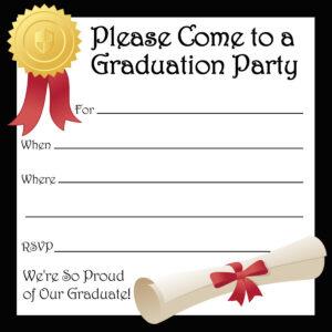 40+ Free Graduation Invitation Templates ᐅ Template Lab intended for Free Graduation Invitation Templates For Word
