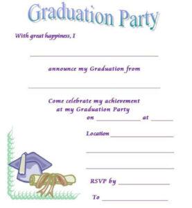 40+ Free Graduation Invitation Templates ᐅ Template Lab pertaining to Graduation Invitation Templates Microsoft Word