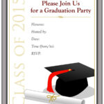 40+ Free Graduation Invitation Templates ᐅ Template Lab regarding Graduation Party Invitation Templates Free Word