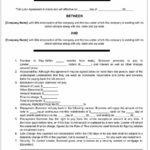 40+ Free Loan Agreement Templates [Word & Pdf] ᐅ Template Lab Intended For Blank Loan Agreement Template
