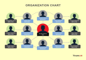 40 Organizational Chart Templates (Word, Excel, Powerpoint) regarding Organogram Template Word Free