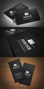 40 Photography Business Card Templates Inspiration in Photography Business Card Template Photoshop