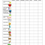 40 Printable Reward Charts For Kids (Pdf, Excel & Word) For Reward Chart Template Word
