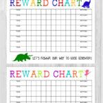 40 Printable Reward Charts For Kids (Pdf, Excel & Word) In Reward Chart Template Word