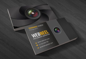 40 Professional Free Business Card Templates With Source throughout Free Business Card Templates For Photographers