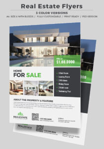 40 Professional Real Estate Flyer Templates Inside Real Estate Brochure Templates Psd Free Download