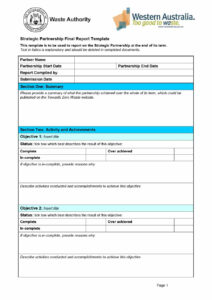40+ Project Status Report Templates [Word, Excel, Ppt] ᐅ pertaining to One Page Status Report Template