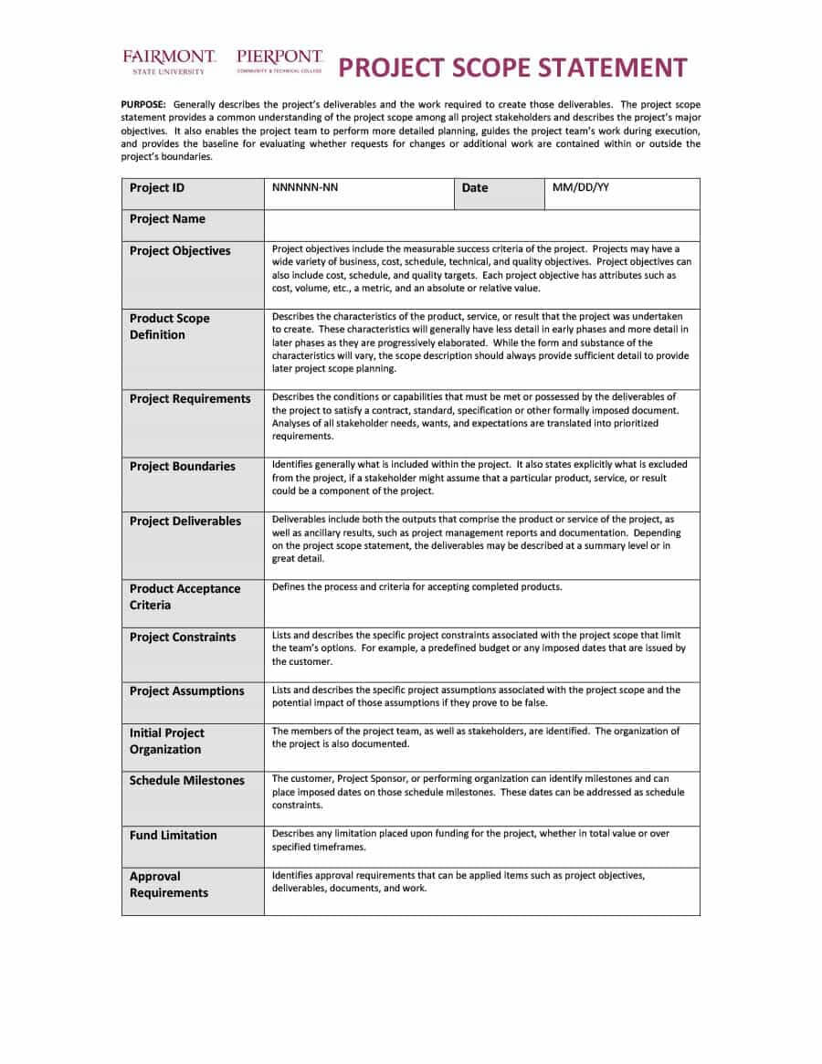 40+ Project Status Report Templates [Word, Excel, Ppt] ᐅ Within Project Management Status Report Template