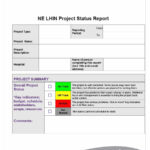 40+ Project Status Report Templates [Word, Excel, Ppt] ᐅ Within Project Status Report Email Template