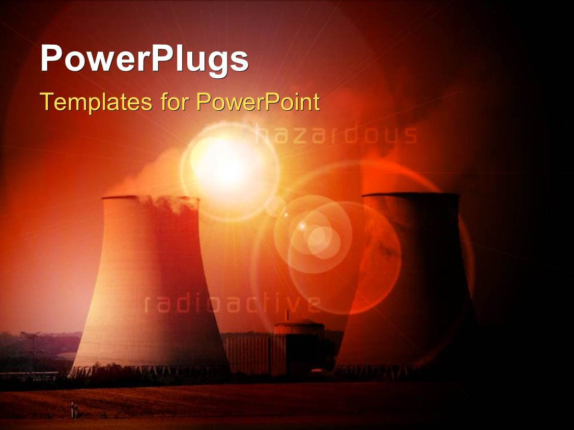 4000+ Nuclear Powerpoint Templates W/ Nuclear Themed Backgrounds Intended For Nuclear Powerpoint Template
