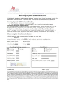 41 Credit Card Authorization Forms Templates {Ready-To-Use} inside Authorization To Charge Credit Card Template