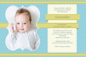 41 How To Write Baptism Invitation Card Template With in Baptism Invitation Card Template