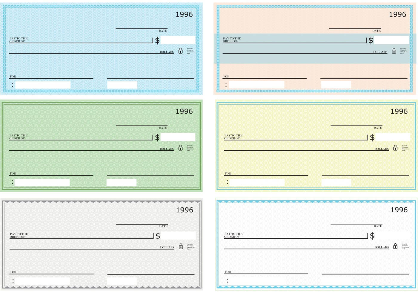 43+ Fake Blank Check Templates Fillable Doc, Psd, Pdf!! In Customizable Blank Check Template