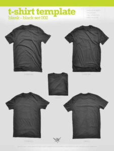 43 Free T-Shirt Mockups & Psd Templates For Your Online regarding Blank T Shirt Design Template Psd